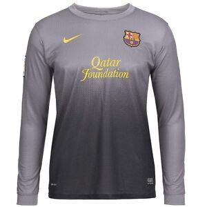 daf0d943e726cc Das Bild wird geladen FC-Barcelona-Nike-Kinder-Torwarttrikot-Goalkeeper- Torwart-Trikot-