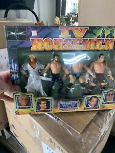 WWF-WWE-WCW-FOUR-HORSEMAN-BOX-SET-BENOIT-FLAIR-NEW
