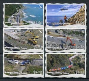 NZ-2018-MNH-Reconnecting-New-Zealand-6v-Set-Bridges-Trains-Architecture-Stamps