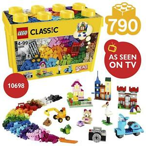 LEGO Classic Large Creative Brick Box Set 790 Pieces 10698