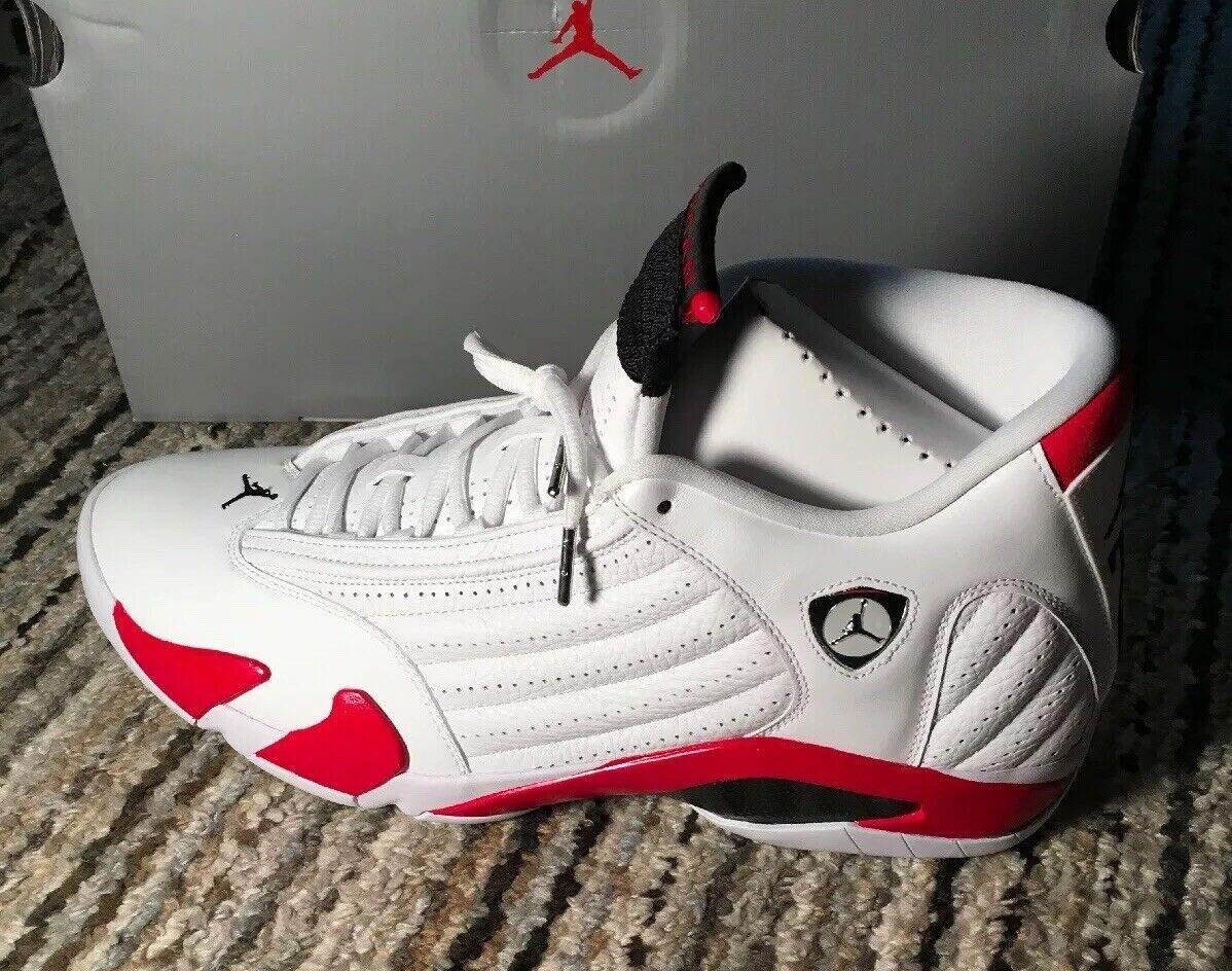 Nuevo JORDAN RETRO 14 Original Baloncesto AIR Zapatos.. Hombre blancoo Rojo Universitario