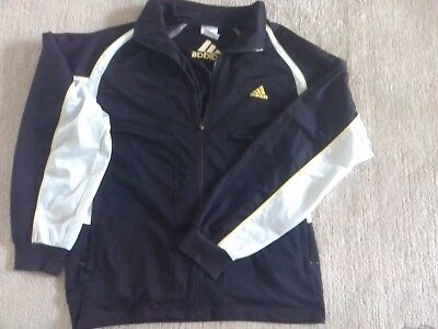 Ehrlich Adidas Trainingsjacke Sportjacke Gr. 8 - Gr. 54 (usa L - Uk 44/46) Jacke Sport