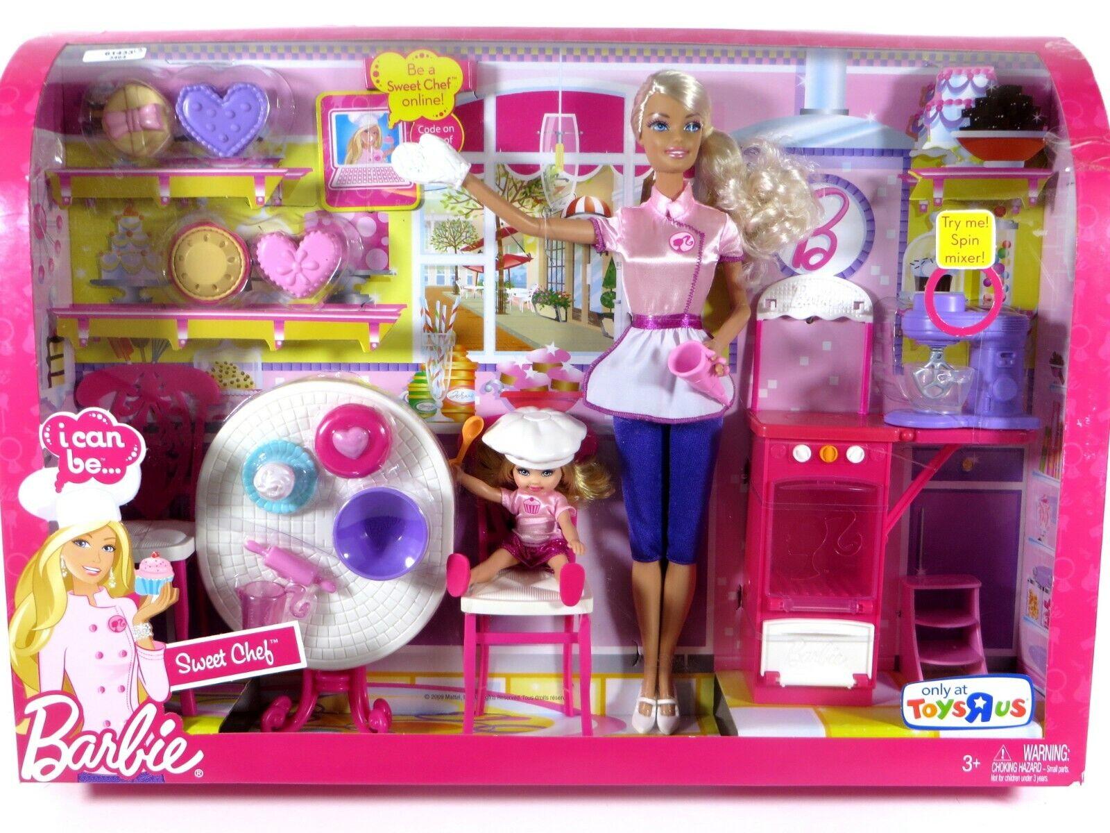 Nuevo en Caja Muñeca Barbie 2009 que pueda ser un dulce Chef