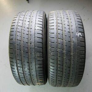 2x-Pirelli-P-Zero-r01-255-40-r21-102y-Dot-4914-4-5-mm-pneus-d-039-ete