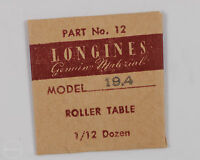 Longines Genuine Material Part 12 Roller Table For 19.4