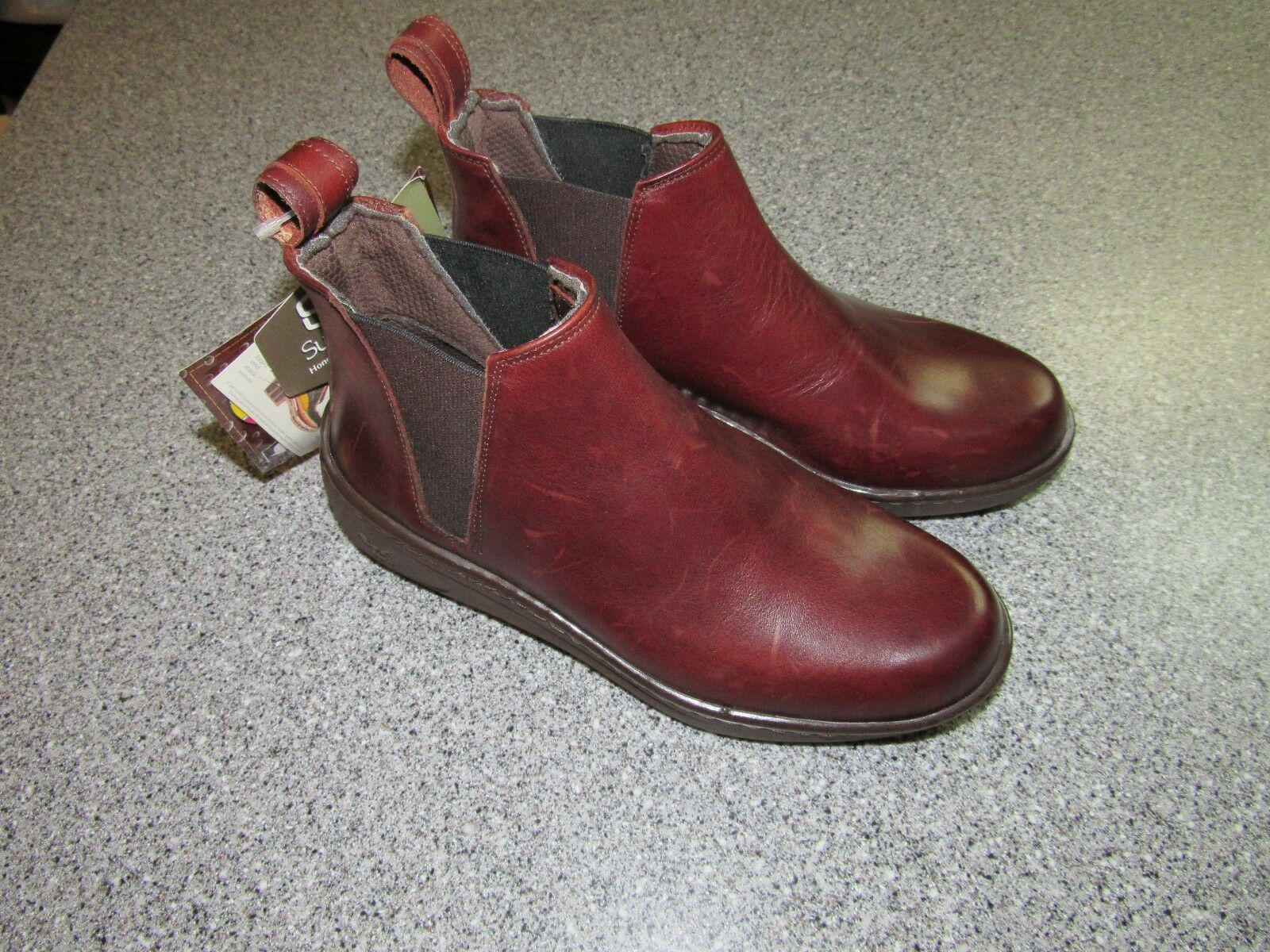 NWT WOMENS LANDI SPORT MADE IN ITALY BOOTS SIZE 5.5 WESTERN HORSE RIDING SHOES