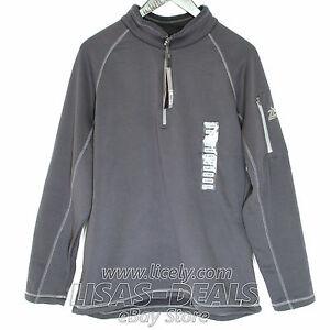 fab1f74b1 New ZeroXposur Stretch Fleece Pullover 1/4 Zip Sweatshirt Gray Green ...