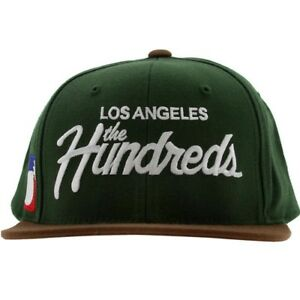 The-Hundreds-Team-Snapback-Cap-green