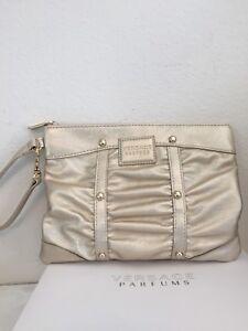 Image is loading Versace-Parfums-Women-Weekender-Bag-Shopping-Purse-Clutch- d213f97b2c