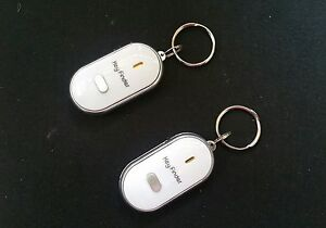 2-X-SONIC-KEYFINDERS-JUST-WHISTLE-TO-FIND-YOUR-KEYS