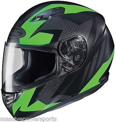 HJC CS-R3 Faren Motorcycle Helmet HI-VIZ Yellow Small Full Face Matte Satin