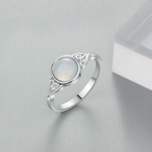 Mondstein-Ring-925er-Sterling-Silber-Damen-Klassiker-Echt-Neu-Sale-Elli