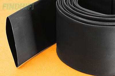 26FT Black 12MM Heat Shrink Tube Tubing 8Meter 2:1 50% shrinkage ratio