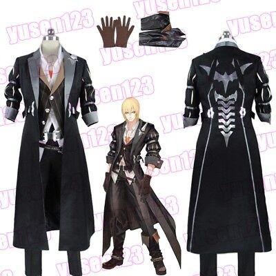 Tales of Berseria Eizen Death Halloween Cosplay Costume Role Play Fancy Dress