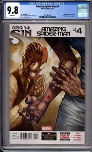 Amazing-Spider-Man-4-CGC-Graded-9-8-NM-MT-1st-Silk-Marvel-Comics-2014