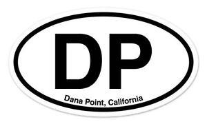 "NB Newport Beach CA California Oval car window bumper sticker decal 5/"" x 3/"""