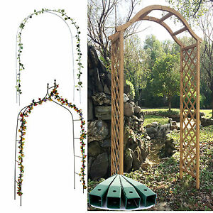 Garden arch rose arch plant growing support archway flower - Garden arch climbing plants ...