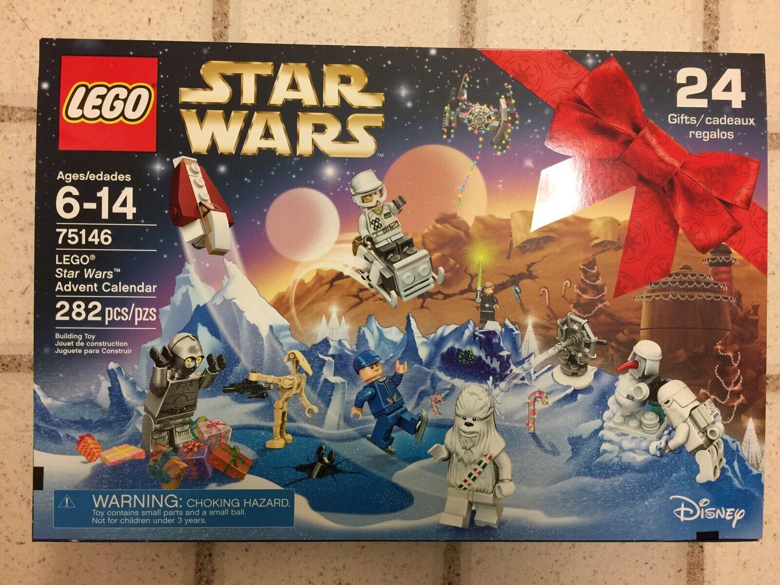 NEW 2016 LEGO Star Wars 75146 Advent Calendar Building Kit Kit Kit (282 Piece) 41f6d9