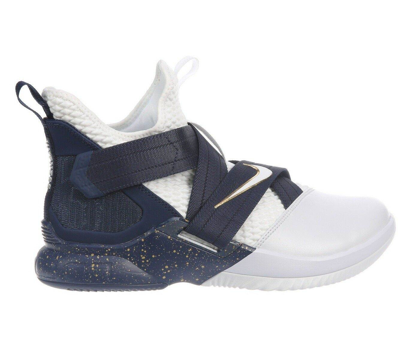 brand new 96a78 929d4 Nike lebron soldato 12 sfg sfg 12 testimone Uomo ao4054-100 della marina  bianca scorpe 9,5