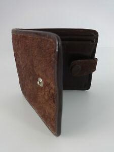 Mens-Wallet-Vintage-Lizard-Skin-Brown-Leather-Zimmerman-Taxidermists-Nairobi