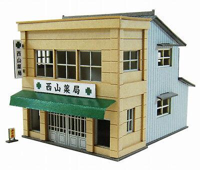 Sankei MP01-122 Pharmacy 1/220 Z scale