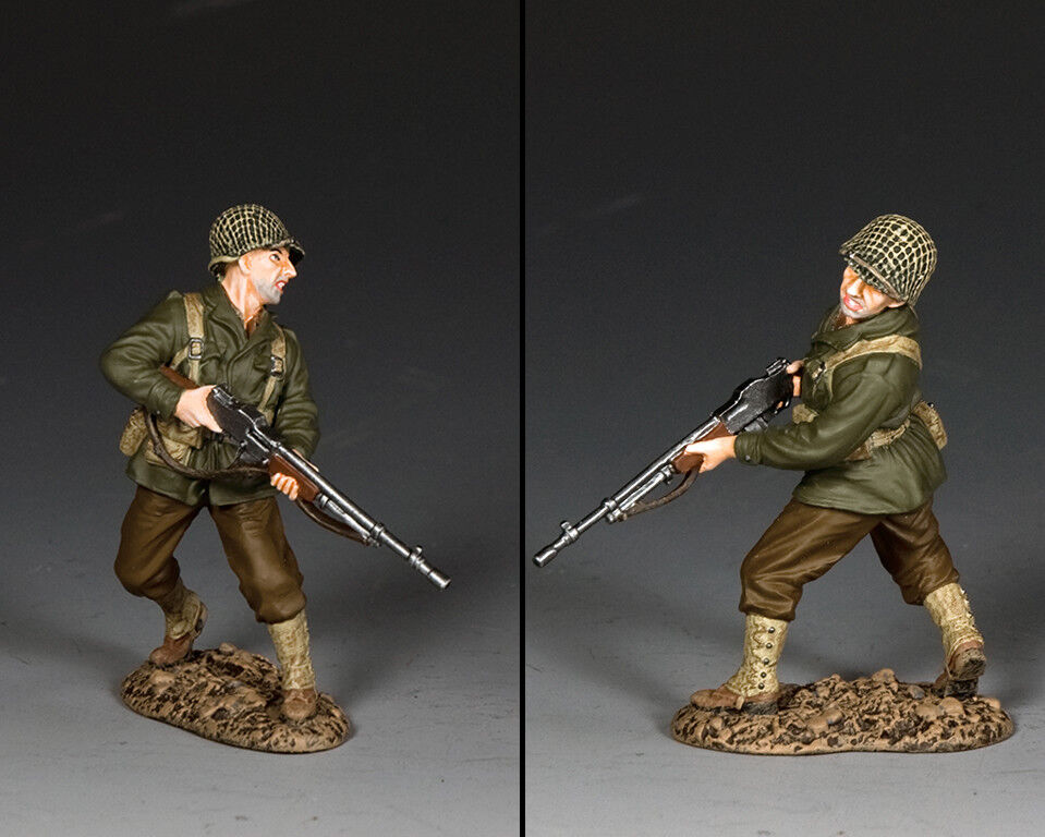 KING AND COUNTRY WW2 US Turning BAR Gunner D Day DD313