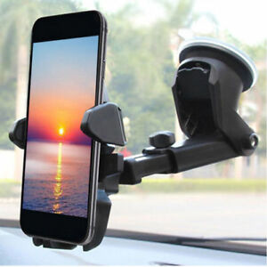 Universal Car 360° Windshield Mount Holder for Cell Phone GPS iPhone Samsung LG 700038257666