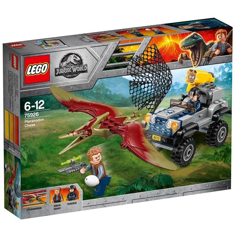 Brand New LEGO Jurassic World Pteranodon Chase