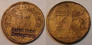 75 Pf. O. Year Colonies: German South West Africa Dswa Port Hotel Swakopmund