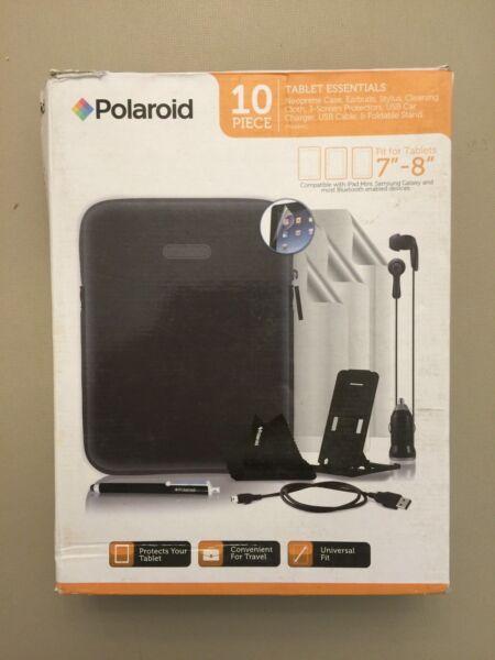 "10pc Tablet Accessories For 7-8"" Tablet Case,earbuds,car Charger,more Make Offer Producten Worden Zonder Beperkingen Verkocht"
