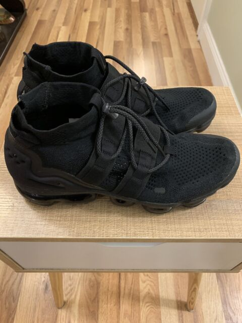 be47a0b30a Nike Air Vapormax Flyknit Utility Triple Black Ah6834 001 Size 11 for sale  online | eBay