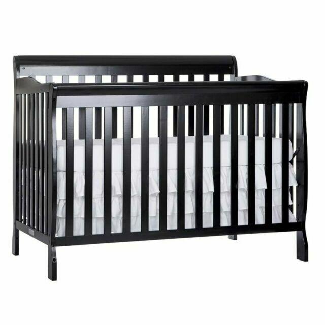 Dream On Me 660k Ashton 5 In 1 Convertible Crib Black For Sale Online Ebay