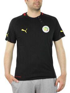 Puma-africa-te-senegal-Training-Jersey-polo-para-hombre-Camisa-739525-20