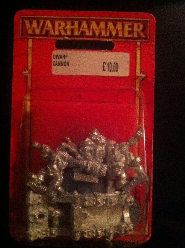 Warhammer Dwarf Cannon Bnib 90s Metal Dwarves Bnib OOP