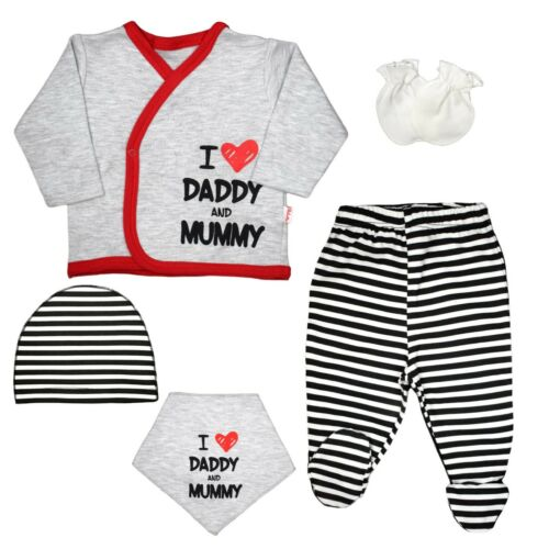 Tuxedo Neugeborenes Baby Mädchen Junge Kapuzenpulli Geschenk