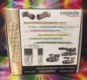 Raynox-DCR-5320-PRO-HD-Macro-LENS-S100fs-52mm-55mm-58mm-62mm-67mm-77mm-72mm