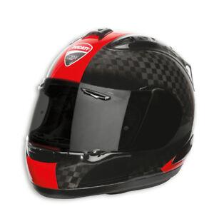 Ducati-Arai-Corse-Charbon-RX-7-RC-Casque-Casque-Limitee-Rouge-Neuf