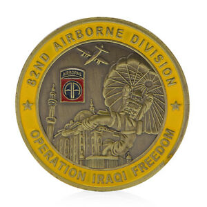 82nd-Airborne-Division-Saint-George-Commemorative-Challenge-Coin-Collection-Gift