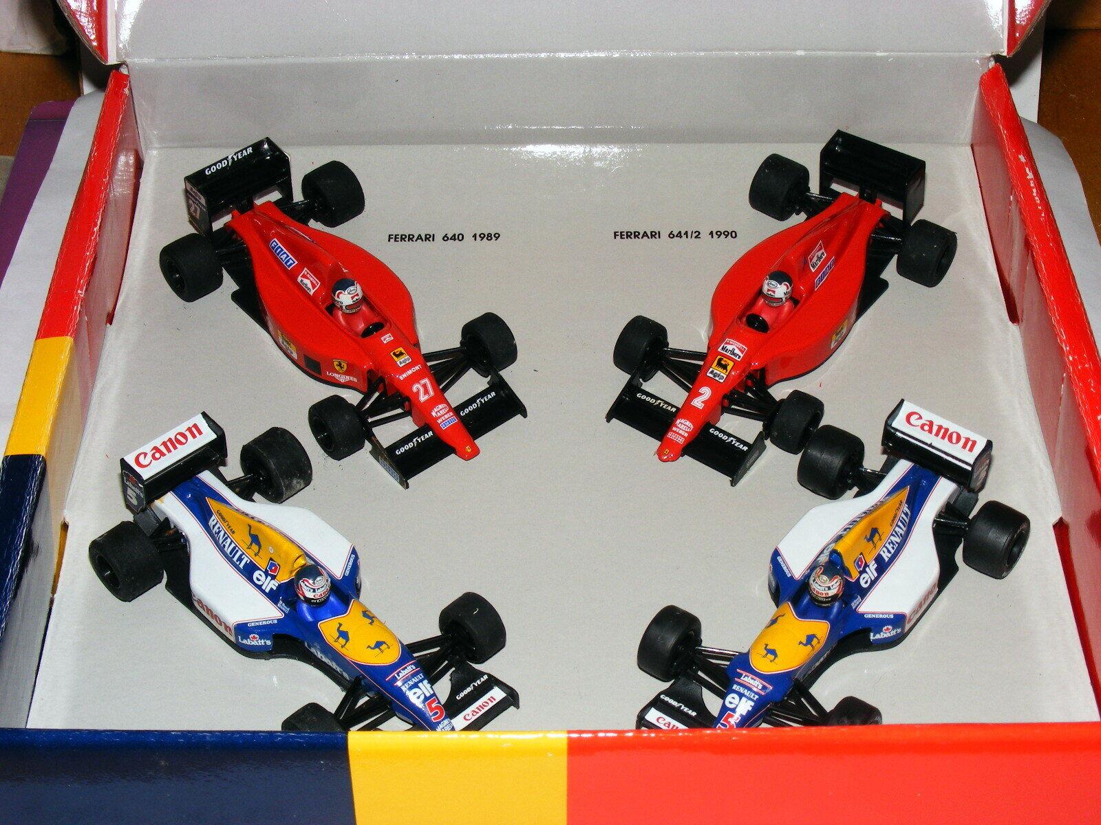 Onyx LE-2 Nigel Mansell World Champion 1992 4 Car Set Ferrari Williams 1 43