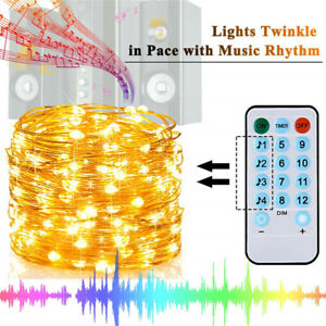 10M-100LED-USB-Copper-Wire-RGB-Fairy-String-Light-With-Remote-Control-Xmas-Party