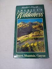 Reader's Digest America's Wilderness Desert, Mountain, Canyon (VHS, 1995)