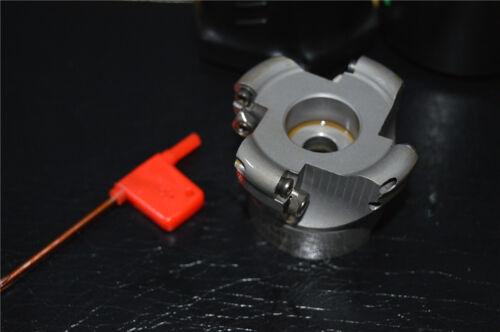 1pcs 4 flute EMR-5R-63-22 Rounding Face End Milling Cutter CNC Milling