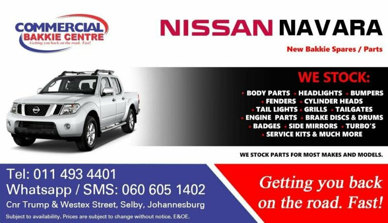 Nissan Navara Parts and Spares For Sale