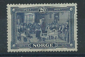 Norvege-N-90-MNH-1914-Constitution-034-Centenaire-034