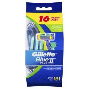 Gillette Blue II UltraGrip Pivot Disposable Shaving Razor 16pk