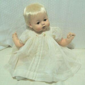 22-034-Madame-Alexander-Kitten-doll-box-crier-new-stuffing-original-tagged-dress