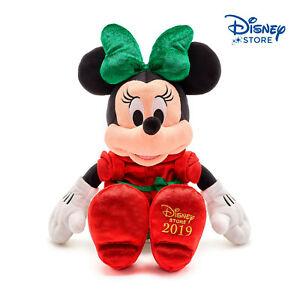 Disney-Topolina-Minni-Mouse-Holiday-Cheer-Minnie-2019-43CM-PELUCHE-PLUSH-NUOVO