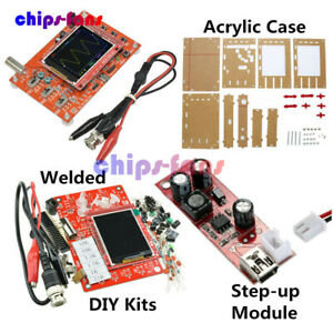"Assembled DSO138 2.4"" TFT Digital Oscilloscope Kit DIY parts ( 1Msps ) + probe"