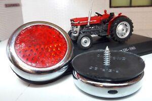 MF-35-135-Tractor-Calidad-Reproduccion-RER25-Laton-Cromo-Rojo-POSTERIOR