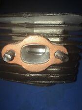 80cc Motorized Bicycle semi Aluminum Muffler Exhaust gasket pair  Copper Coated
